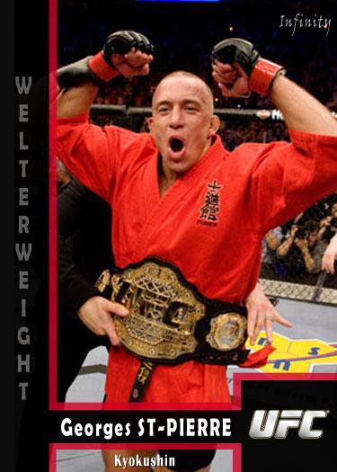 George St Pierre (UFC) - Billy Crafton Athletes